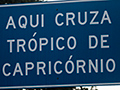 Tropic of Capricorn, Brazil