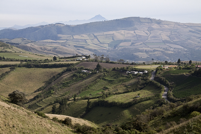 Farmland - On the Road - Quito to Yanacocha